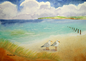easy-aquarell, dein online aquarell-malkurs » ein tag am meer
